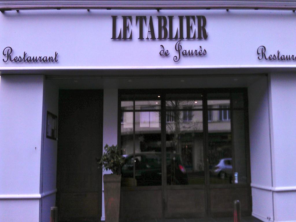 Le tablier de jaures restaurant de cuisine traditionnelle produits locaux frais et de saison - Petit jardin restaurant luxembourg le mans ...