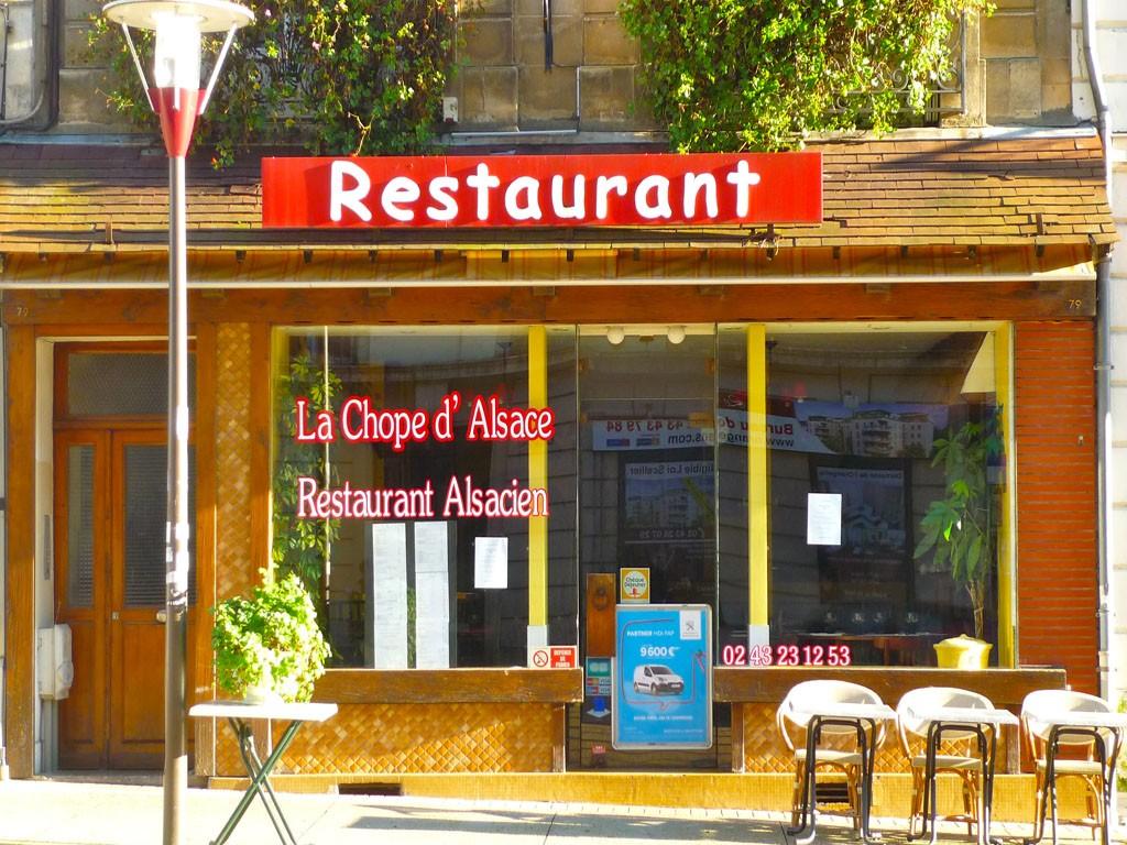 La chope d 39 alsace cuisine traditionnelle le mans le mans sarthe 72 - Alsace cuisine traditionnelle ...