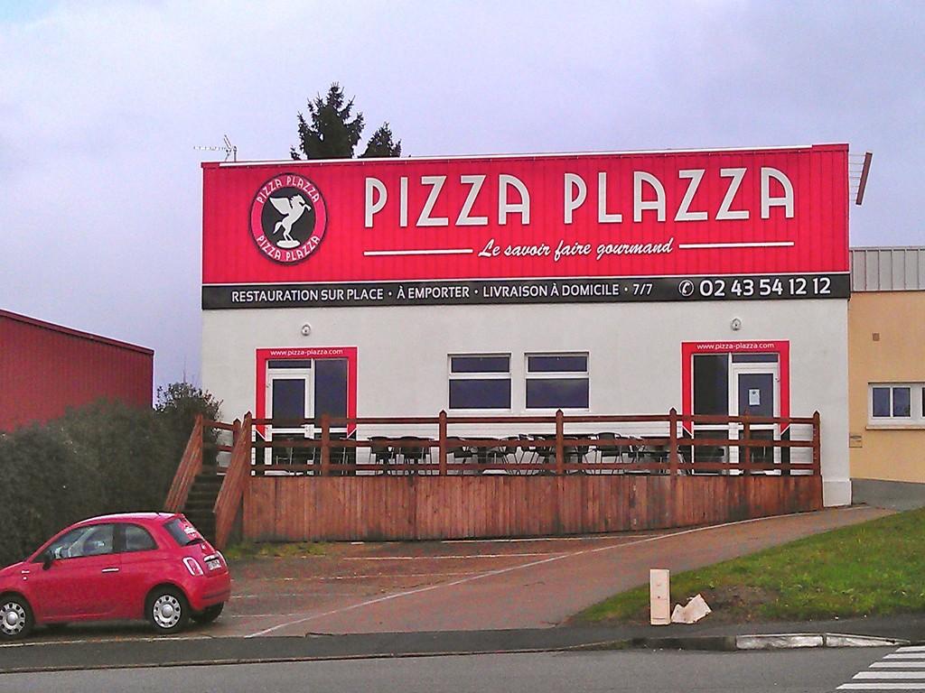 pizza plazza pizz ria coulaines pr s de le mans en sarthe pizzeria le mans sarthe 72. Black Bedroom Furniture Sets. Home Design Ideas