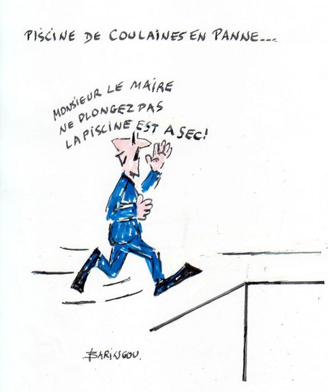 Humeur et humour 23 f vrier for Piscine de coulaines